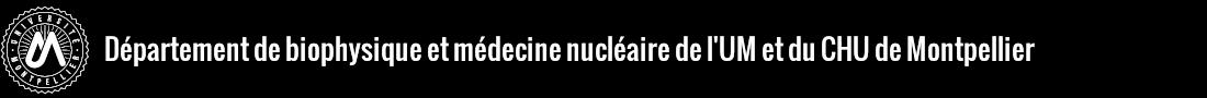 Biophysique et Médecine Nucléaire Logo